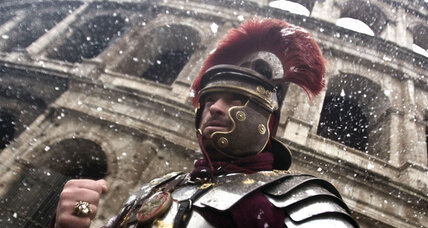 Rome cracks down on marauding centurions