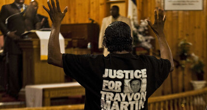 Trayvon Martin case: Relief, hope in Sanford, Fla., after Zimmerman charged