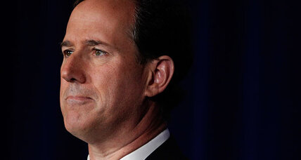 Rick Santorum bows out of 2012 presidential race