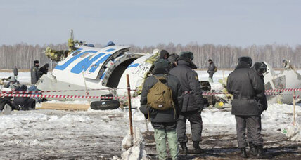 Plane crash kills 31 in Siberia