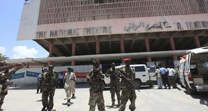 Suicide bomber kills six in Somali capital