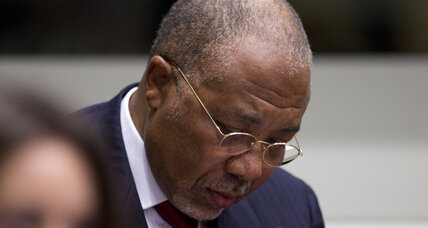 Charles Taylor, former Liberian president, found guilty of war crimes