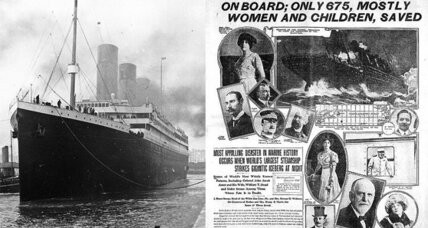 What sank the Titanic?