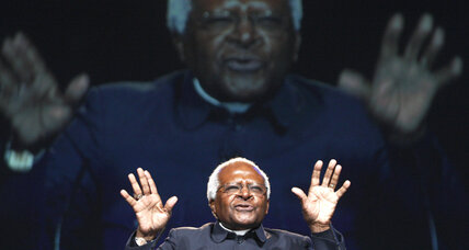 Bishop Tutu urges peace in upcoming Lesotho elections