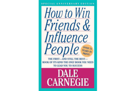 dale carnegie how to develop self confidence and influence people