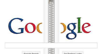 Google honors Gideon Sundback: Father of the zipper
