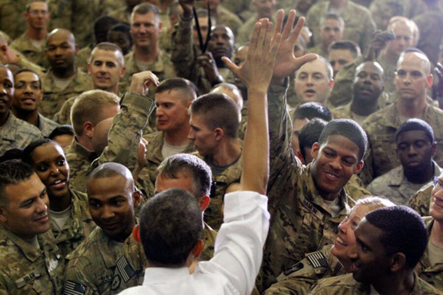 One year after Osama bin Laden death  Obama    s balancing act still    One year after Osama bin Laden death  Obama    s balancing act still tricky   video    CSMonitor com