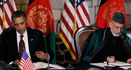 Obama's secret trip: why he wanted quick signing of pact with Karzai
