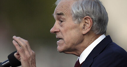The battle of the Pauls: Ron Paul talks economic theory