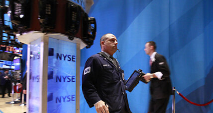Dow Jones hits highest mark since 2007