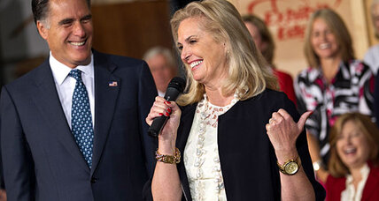Why does Ann Romney keep calling Mitt a 'wild and crazy' guy?