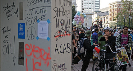 Occupy 2012: Day 1 of protests yields a mixed review (+video)