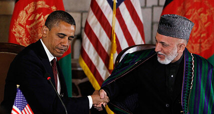 Obama's agreement with Karzai in Afghanistan short on specifics
