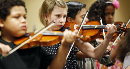 Mandatory elementary-school violin classes are a hit