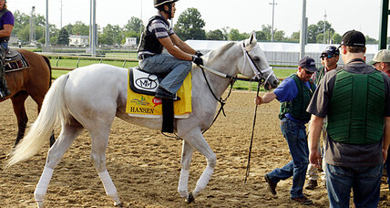 Kentucky Derby: Will mighty white steed ride to rescue of struggling sport?