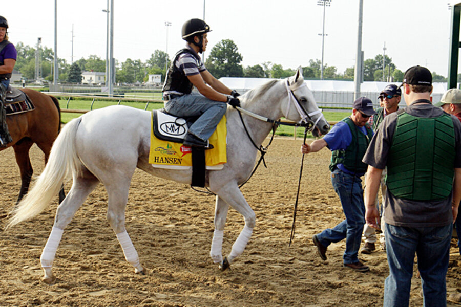 Kentucky Derby Will Mighty White Steed Ride To Rescue Of Struggling Sport Csmonitor Com