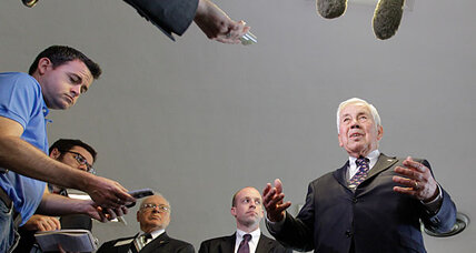 Tea party set to topple Sen. Richard Lugar. Could he try third-party run?