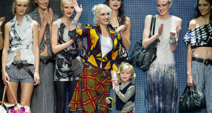Gwen Stefani juggles motherhood with fashion, singing career