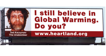 Heartland Institute's digital billboards make bombastic comparisons (+video)