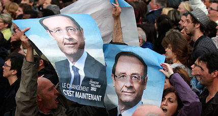 Hollande's hometown says goodbye to François, hello to Monsieur le Président