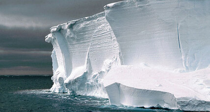 Beneath Antarctic ice, a potent greenhouse gas?