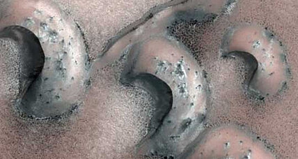Surprise: Martian sand dunes are speedy