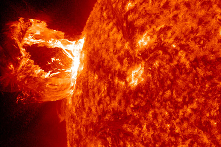 How a solar flare could send us back to the Stone Age - CSMonitor com