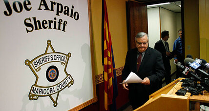 Justice Department sues Joe Arpaio for discrimination: Is he cornered? (+video)