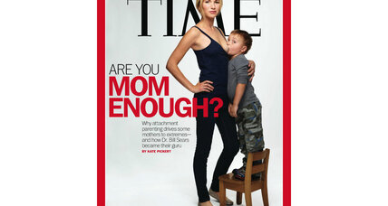 Time breast-feeding cover: On parenting, can we all get along?
