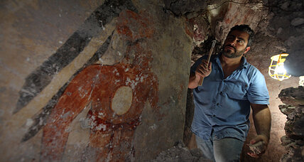 End of days near? Mayan find pushes calendar way beyond 2012.