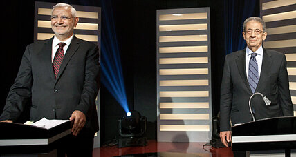Egyptian presidential debate underscores Islamist vs. establishment divide