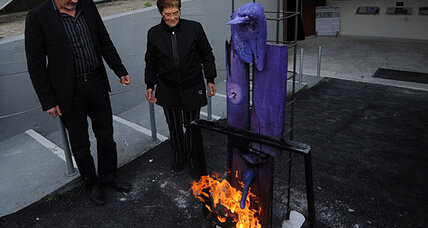 Italian museum sets its art on fire to protest lack of government funding