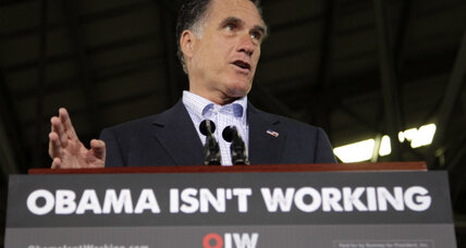 "Obama ""vampire"" ads target Romney on economy"
