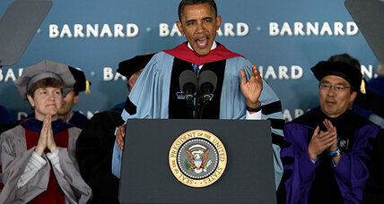 With graduation speeches, Obama, Romney target 'must win' audiences