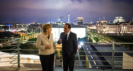 Hollande takes power in France amidst lightning