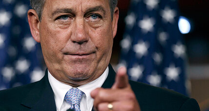 John Boehner fires opening shot in potential debt-ceiling showdown