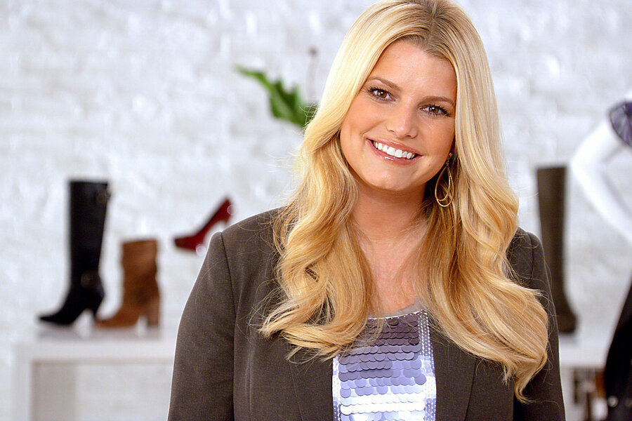 Jessica Simpson New maternity clothing line to show off