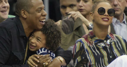 Jay-Z music break for baby Blue reflects new daddy nurturer trend