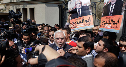 Candidate Aboul Fotouh highlights diversity of Egypt's Islamists
