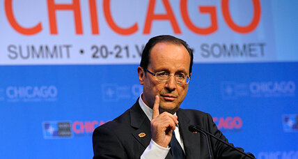 Hollande's first world appearance a double success