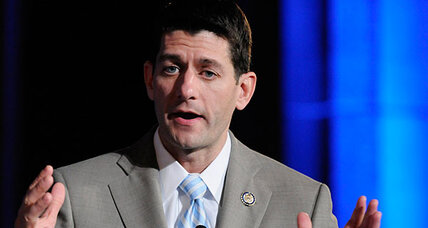 Paul Ryan goes into Obama attack mode at the Reagan library