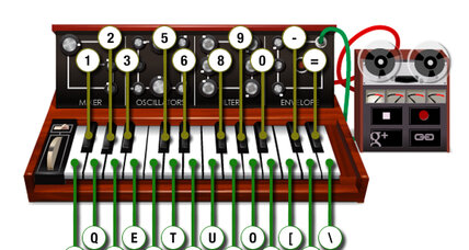 Bob Moog: How to play the Moog doodle