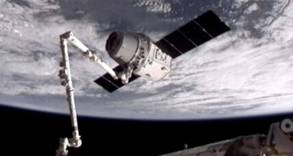 SpaceX: Historic space station rendezvous at over 17,000 mph