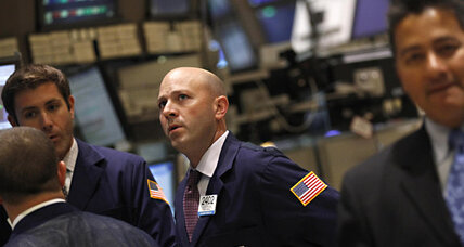 HP jump boosts Dow; stocks mixed