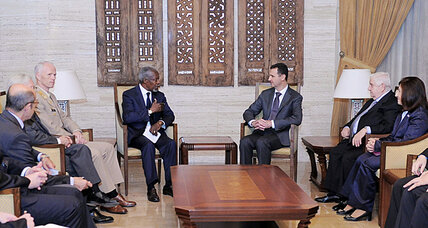 After massacre in Syria, Annan travels to Damascus to push peace plan