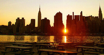 Manhattanhenge: Sun to align perfectly with New York street grid