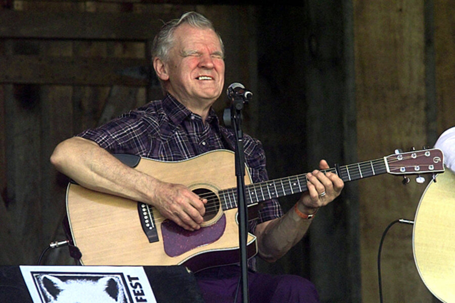 Doc Watson Innovative Guitarist And Positive Icon For Appalachian