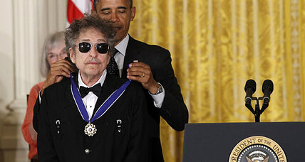 Bob Dylan awarded Medal of Freedom. What does that say about US?