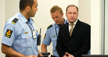 Oslo police refute Breivik's claim of terrorist network, saying he acted alone