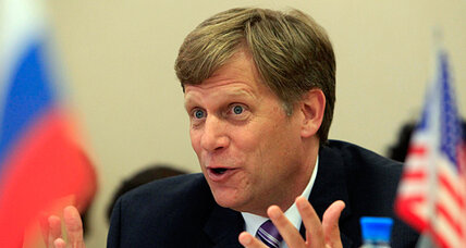 Ambassador McFaul, driver of US-Russia 'reset,' becomes his own obstacle